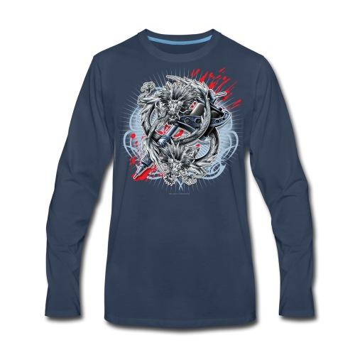 S-121 Dragon Tattoo Men's Tee - Men's Premium Long Sleeve T-Shirt