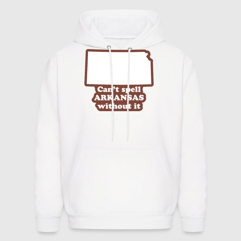 Kansas - Can't Spell Arkansas without It Hoodie - Men's Hoodie