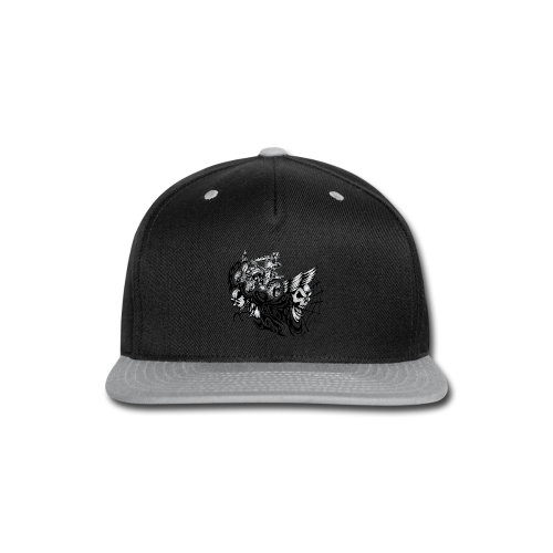 Quad Blazed Wickedness - Snap-back Baseball Cap
