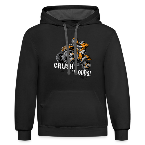Crush The Odds - Contrast Hoodie