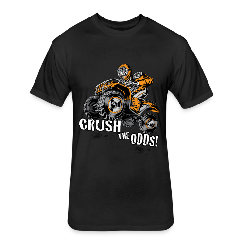 Crush The Odds - Fitted Cotton/Poly T-Shirt by Next Level