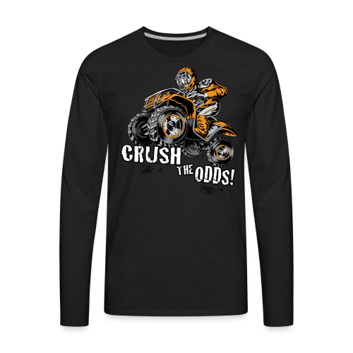 Crush The Odds - Men's Premium Long Sleeve T-Shirt