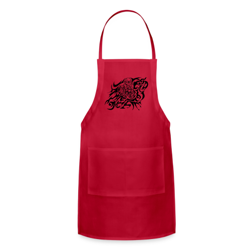 Flamed Skully - Adjustable Apron