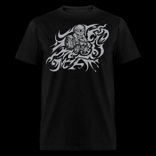 Flamed Skully - Men's T-Shirt
