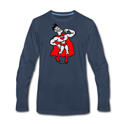 Hero of Love - Men's Premium Long Sleeve T-Shirt