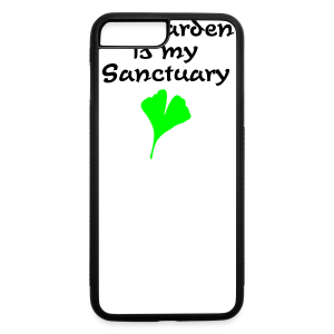 My Garden is my Sanctuary Organic T-Shirt (Gold) - iPhone 7 Plus/8 Plus Rubber Case