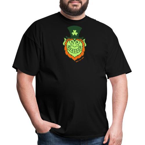 St Paddy's Day Naughty Leprechaun - Men's T-Shirt