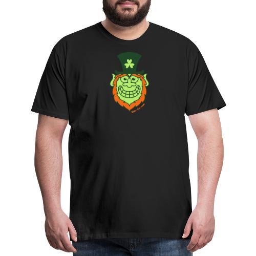 St Paddy's Day Naughty Leprechaun - Men's Premium T-Shirt
