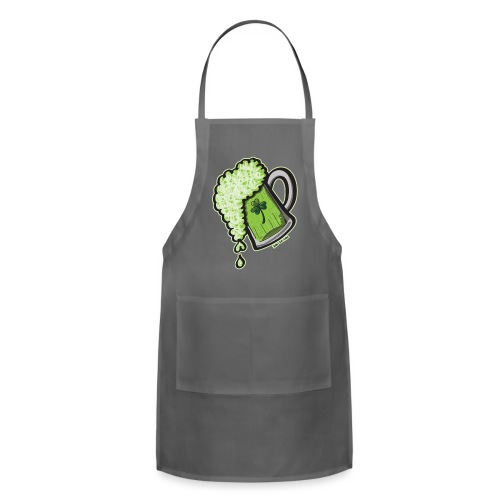 Saint Patrick's Day Glass of Beer - Adjustable Apron