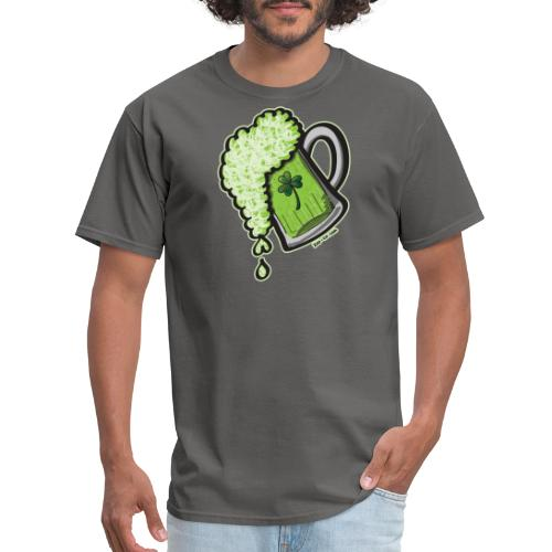 Saint Patrick's Day Glass of Beer - Men's T-Shirt
