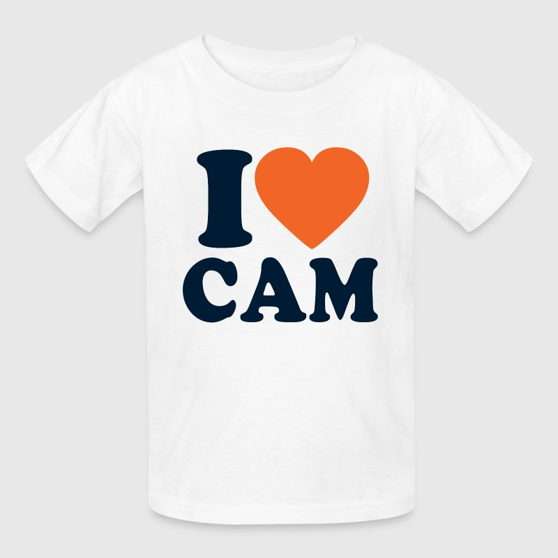 I Love Cam Kids' Shirts - Kids' T-Shirt