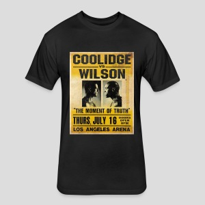 Pulp Fiction: Coolidge vs. Wilson [SPECIAL OFFER] - Fitted Cotton/Poly T-Shirt by Next Level