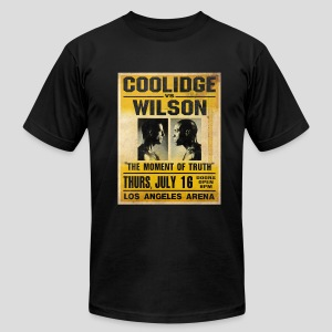 Pulp Fiction: Coolidge vs. Wilson [SPECIAL OFFER] - Men's Fine Jersey T-Shirt
