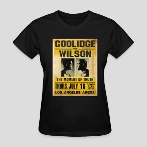 Pulp Fiction: Coolidge vs. Wilson [SPECIAL OFFER] - Women's T-Shirt