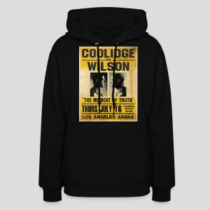 Pulp Fiction: Coolidge vs. Wilson [SPECIAL OFFER] - Women's Hoodie