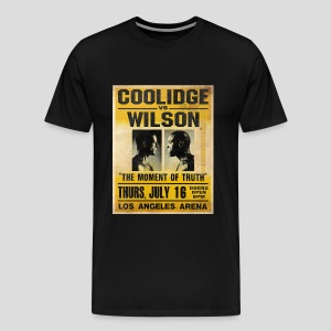 Pulp Fiction: Coolidge vs. Wilson [SPECIAL OFFER] - Men's Premium T-Shirt