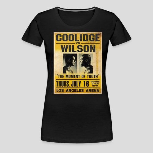 Pulp Fiction: Coolidge vs. Wilson [SPECIAL OFFER] - Women's Premium T-Shirt
