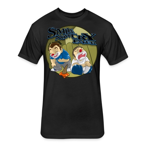 Smile Cry Kids - Fitted Cotton/Poly T-Shirt by Next Level
