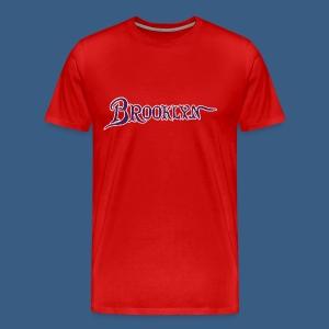 Brooklyn Old Font - Men's Premium T-Shirt