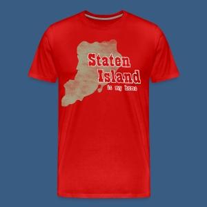 Staten Island is My Home - Men's Premium T-Shirt