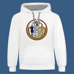 New York City Seal - Contrast Hoodie