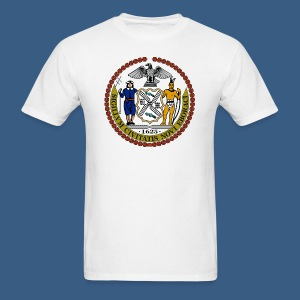 New York City Seal - Men's T-Shirt