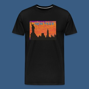 New York Artsy - Men's Premium T-Shirt