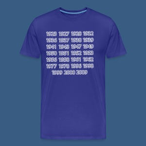 NY Championship Years - Men's Premium T-Shirt