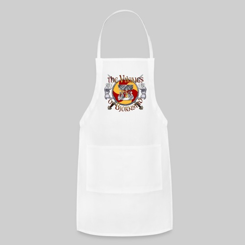 Large Vikings of Bjornstad Campaign Button - Adjustable Apron