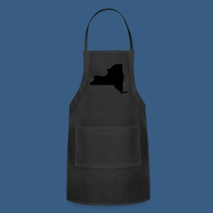 New York State Silhouette - Adjustable Apron