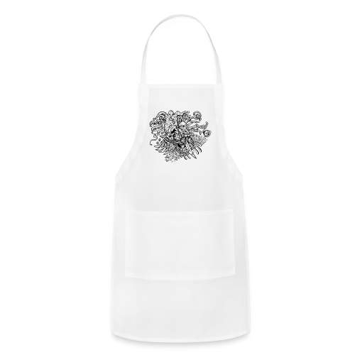 The Joke Stir Quad Black - Adjustable Apron