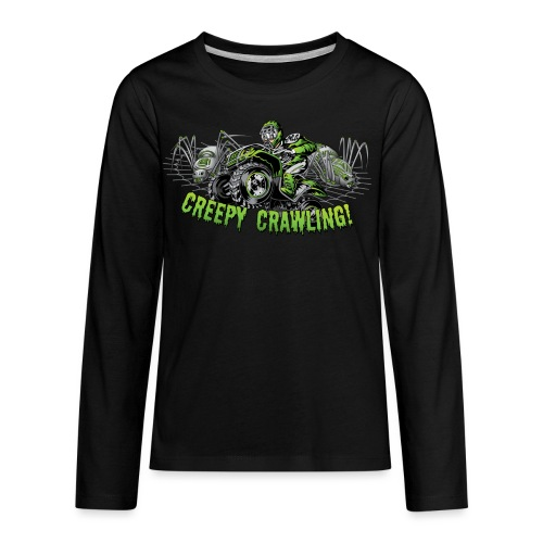 Creepy Crawler ATV - Kids' Premium Long Sleeve T-Shirt