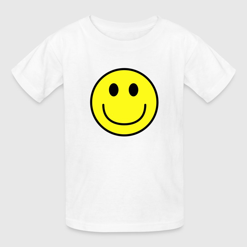Smiley face big smile - Kids' T-Shirt