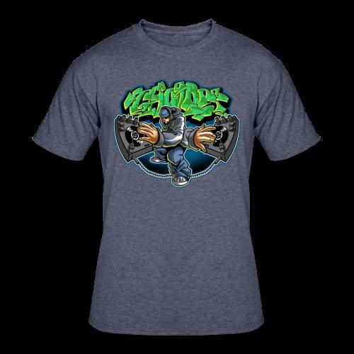 S-108 Cholo Disc Tee - Men's 50/50 T-Shirt