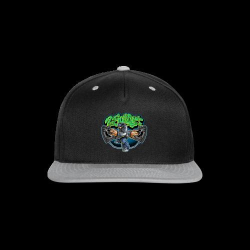 S-108 Cholo Disc Tee - Snap-back Baseball Cap