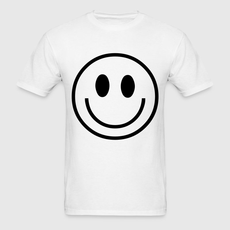 seventies hippie smiley Kids' Shirts - Men's T-Shirt