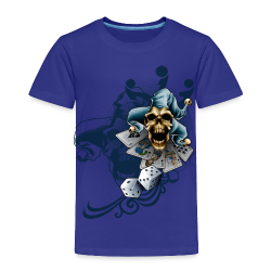 S-105 Jester Skull Men's T - Toddler Premium T-Shirt