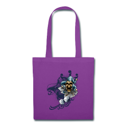 S-105 Jester Skull Men's T - Tote Bag