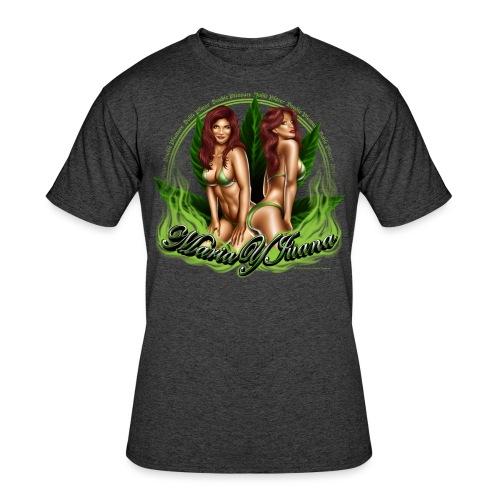 S-120 Maria y Juana Men's T - Men's 50/50 T-Shirt