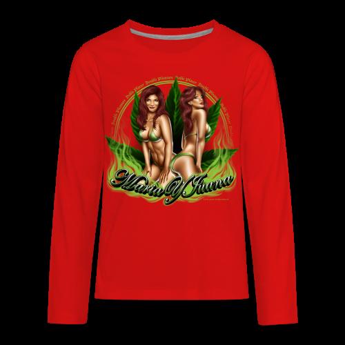S-120 Maria y Juana Men's T - Kids' Premium Long Sleeve T-Shirt