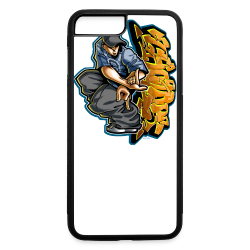 S-106 Cholo Hands Hoodie - iPhone 7 Plus/8 Plus Rubber Case