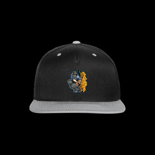 S-106 Cholo Hands Hoodie - Snap-back Baseball Cap