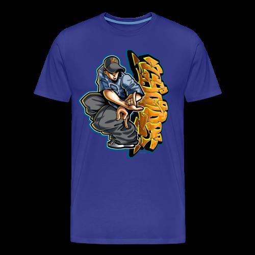 S-106 Cholo Hands Hoodie - Men's Premium T-Shirt