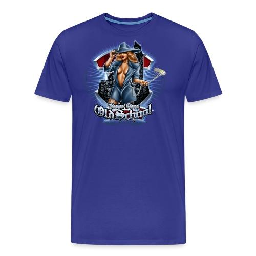 Old School Women's T - Men's Premium T-Shirt