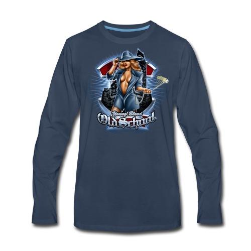 Old School Women's T - Men's Premium Long Sleeve T-Shirt