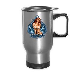 S-113 Threesome Hoodie - Travel Mug