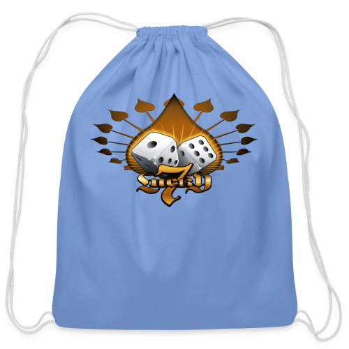 Lucky 7 Hoodie - Cotton Drawstring Bag