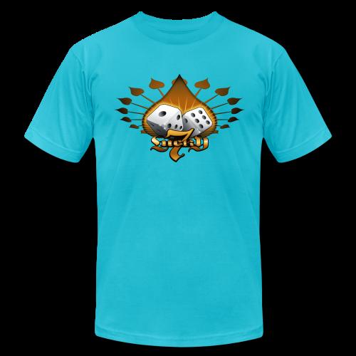 Lucky 7 Hoodie - Men's Fine Jersey T-Shirt