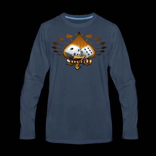 Lucky 7 Hoodie - Men's Premium Long Sleeve T-Shirt