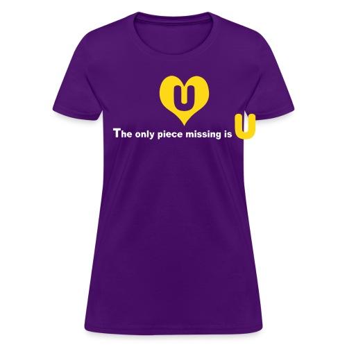 Piece Missing - Women's T-Shirt